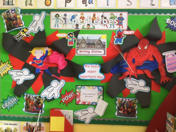 Barbury Superhero Display