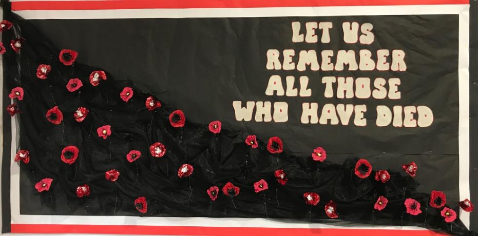 Let us remember all those who have died