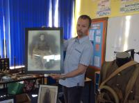 Visit from a local WW1 historian (1)
